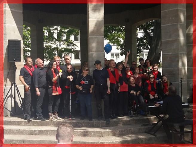 Europäischer Protesttag zur Gleichstellung von Menschen mit Behinderungen, Fürth 06.05.2017