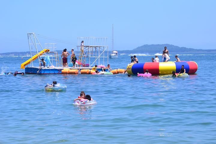いよいよ夏本番!能古島が海開き♪