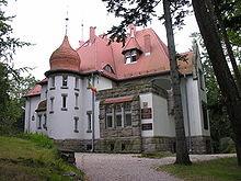Haus Wiesenstein in Agnetendorf Wohnsitz der Hauptmanns