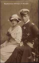 Otto Weddigen und Irma Prencke