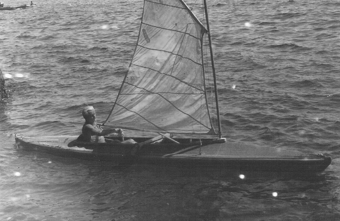 OW beim Faltbootsegeln