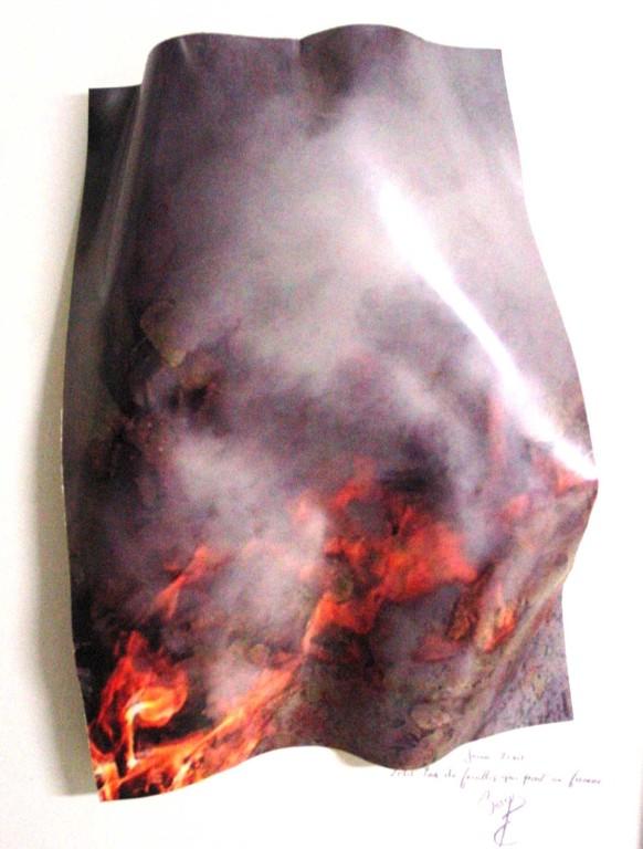 Fumée, 40 x 60 cm