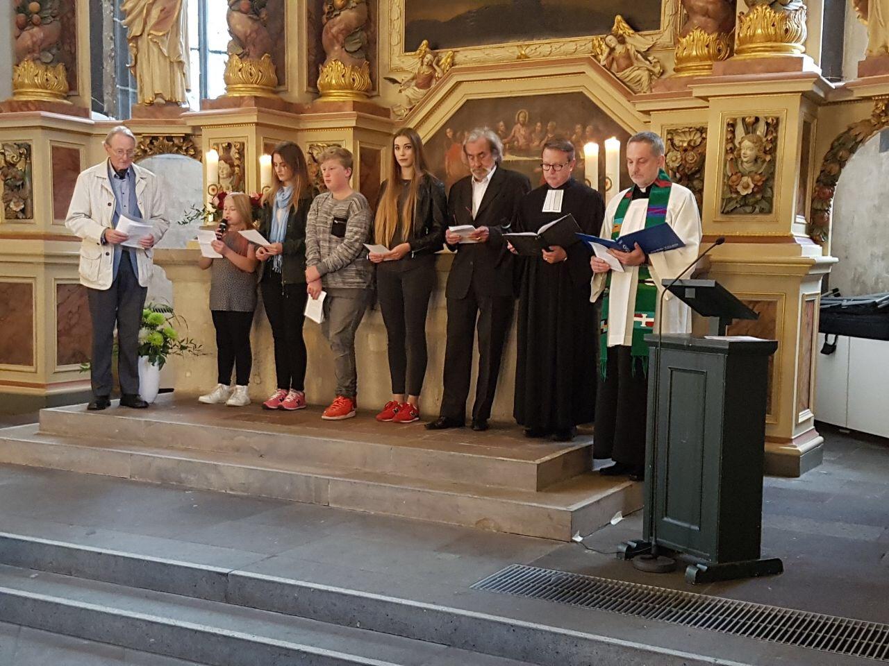Gottesdienst in der St. Blasius Kiche