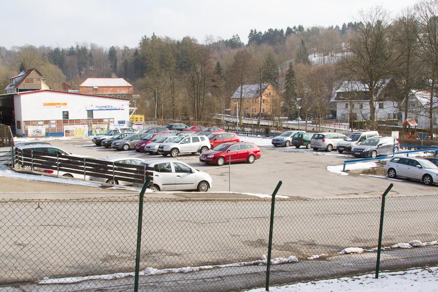Parkplatz Mitarbeiter