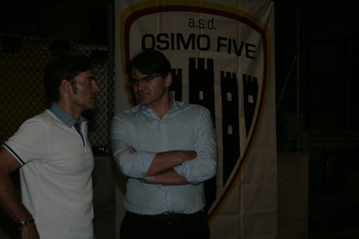 l'ex sindaco Dino Latini e l'assessore Sandro Antonelli