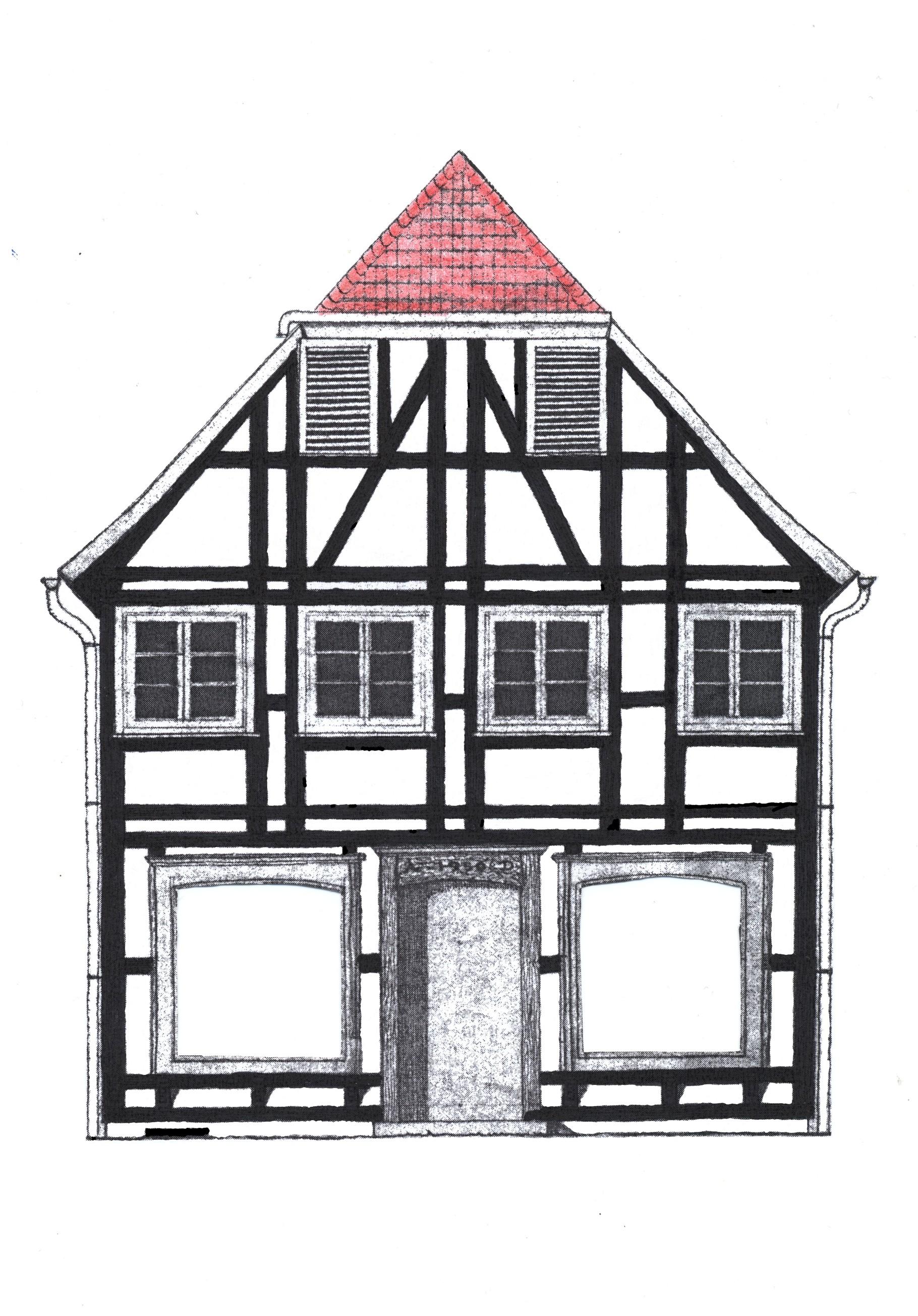 Berühmt Ferienwohnung im historischen denkmalgeschützten Fachwerkhaus in XK93