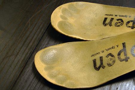 今お履きの靴もインソールを取り外してサイズが合っているかチェックしましょう!