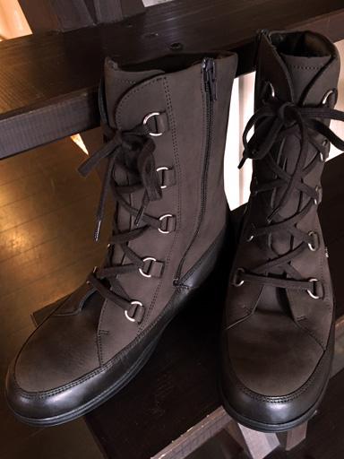 残り1足! FinnComfort ミディアムウールブーツ STERZING サイズ:23.7cm