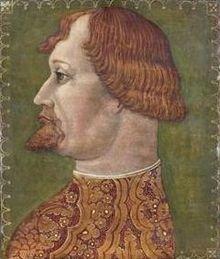 Gian Galeazzo Visconti in un ritratto attribuito a Ambrogio de Predis
