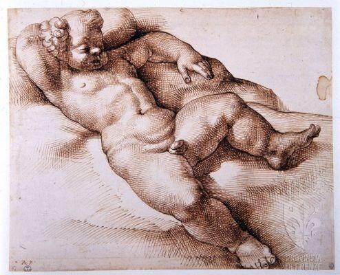 Bartolomeo Passerotti, Cupido dormiente, Firenze, Gabinetto Disegni e Stampe degli Uffizi