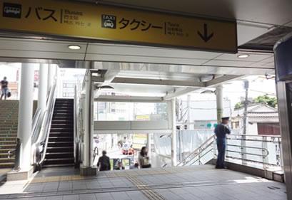 登戸駅前バスタクシーロータリー