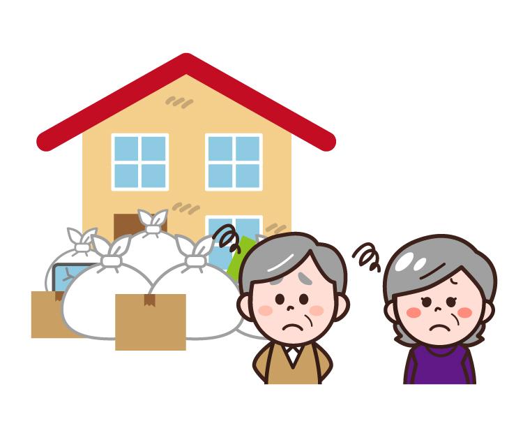 川崎市のような住宅街での戸建のゴミ屋敷に悩む相続人の高齢者