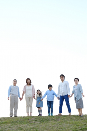 3世代仲の良い家族の相続手続き