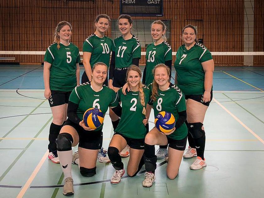 Volleyball Damenmannschaft