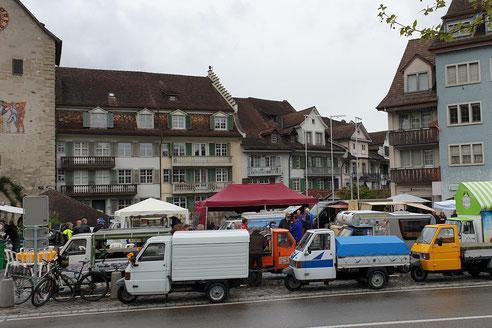 Der PPOW am Ape-Mercato in Bischofszell