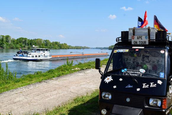 Ape Frühlingstour nach Krefeld 2019