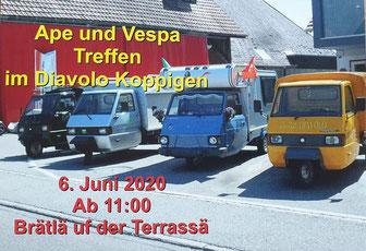 PPOW-Spontanausflug ins Restaurant Diavolo in Koppigen