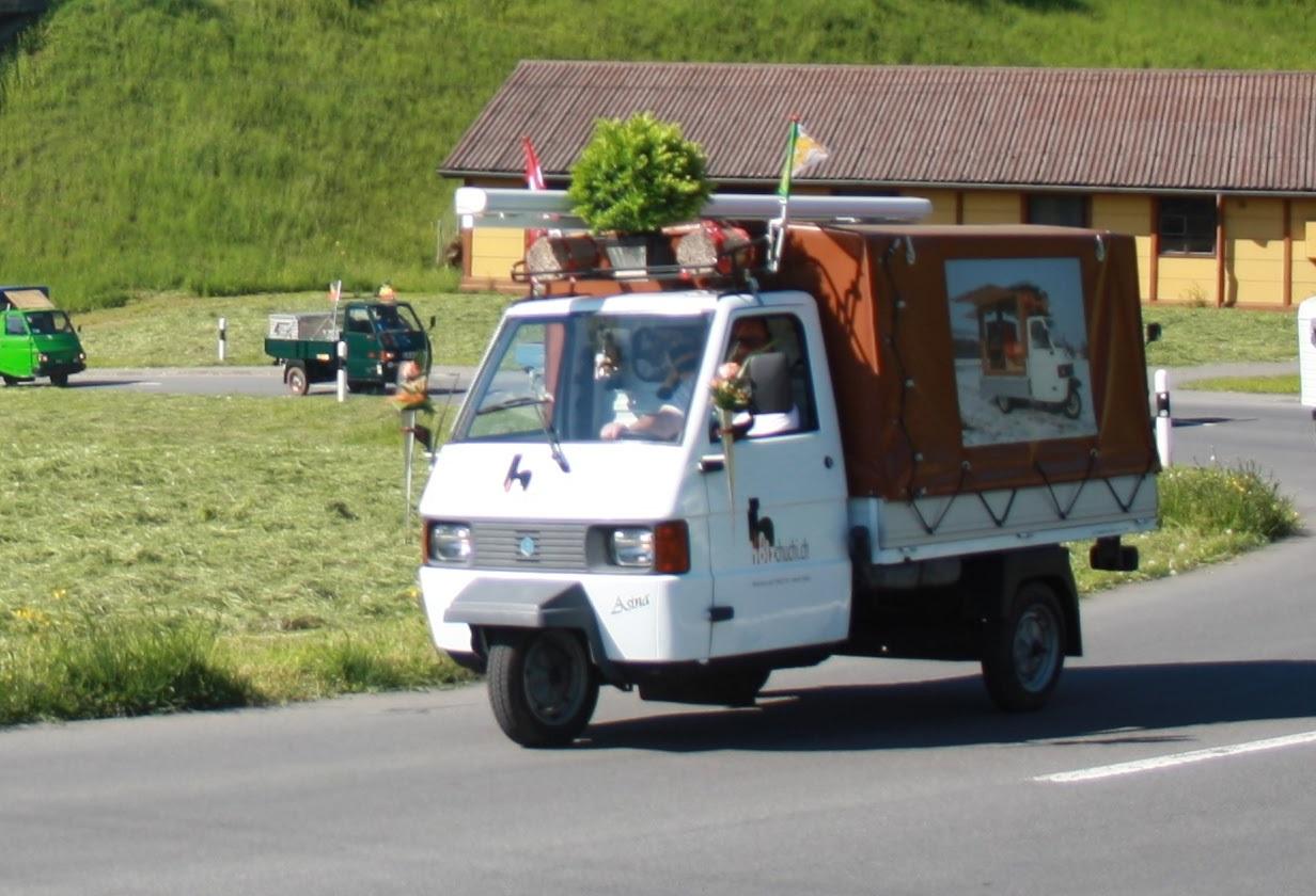 20 Jahre PPOW - Jubiläum 20 Jahre 3-Rad Piaggio Power - Ausfahrt