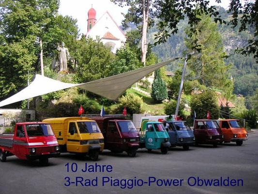 10 Jahre 3-Rad Piaggio Power