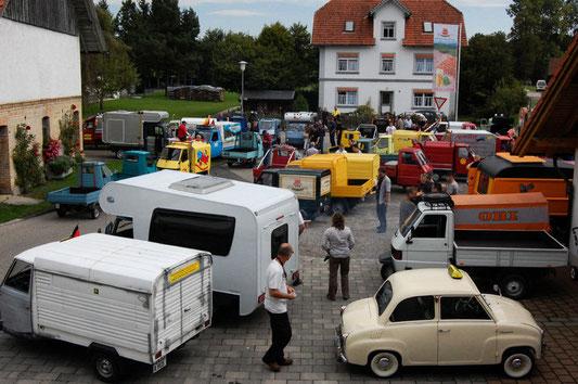 Abknattern im Allgäu 2011