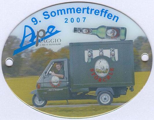 9. Ape Sommertreffen 2007, der IG-APE Deutschland
