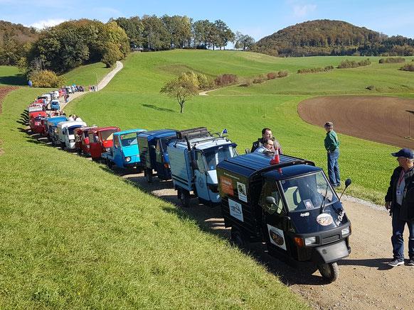 2. Ape-Herbsttreffen in Herznach