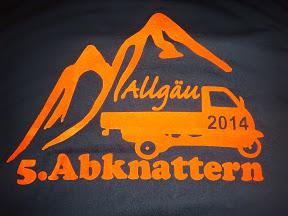 Abknattern im Allgäu 2014