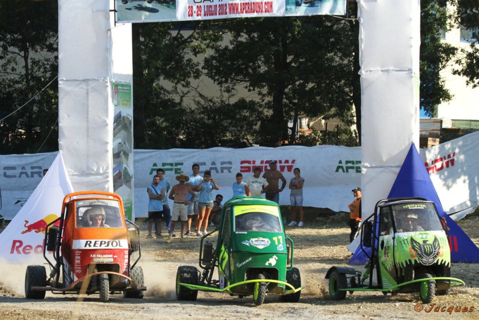 Ape Car Show Carpegna