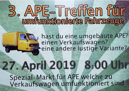 Ape-Mercato in Bischofszell