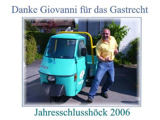 PPOW Jahresschlusshöck 2006