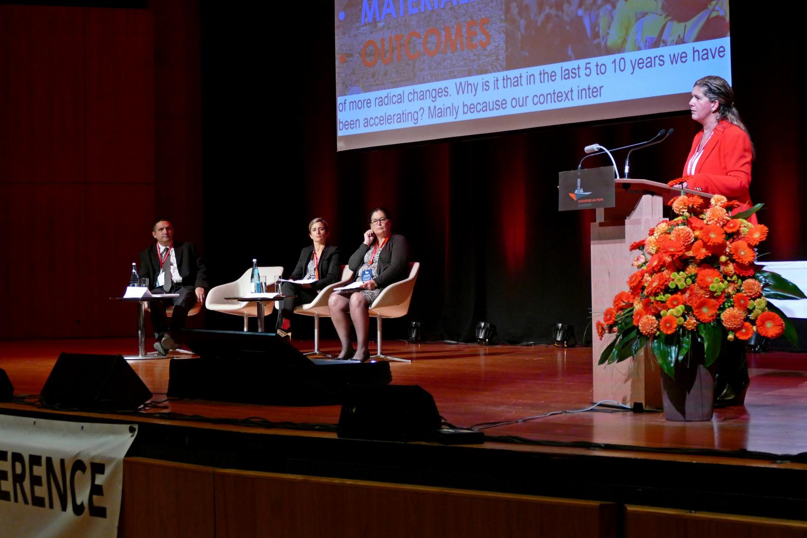 25. IAVE Welt-Freiwilligenkonferenz 2018 in Augsburg - Deutschland - 19.10.2018 Kongress am Park Foren und Foyer - Foto: Christoph Urban - Freiwilligen-Zentrum Augsburg