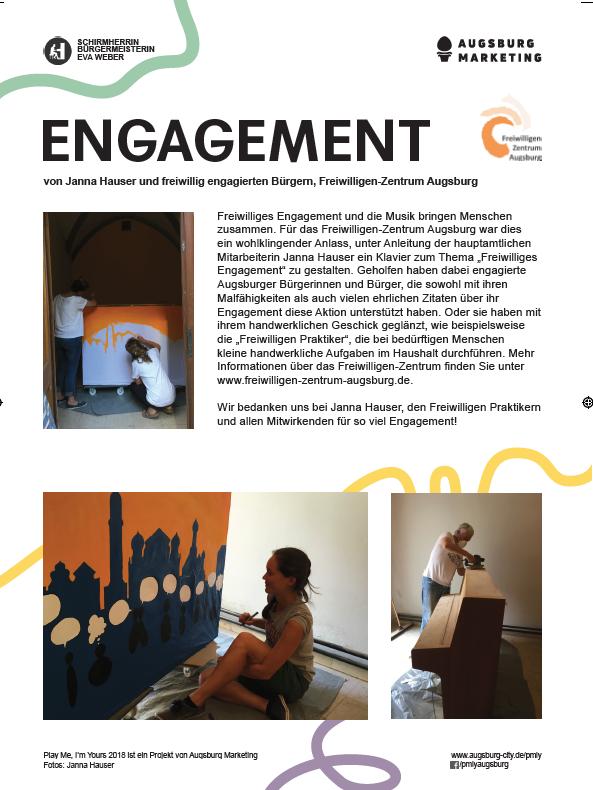 Engagement-Klavier 2018 - Freiwilligen-Zentrum Augsburg