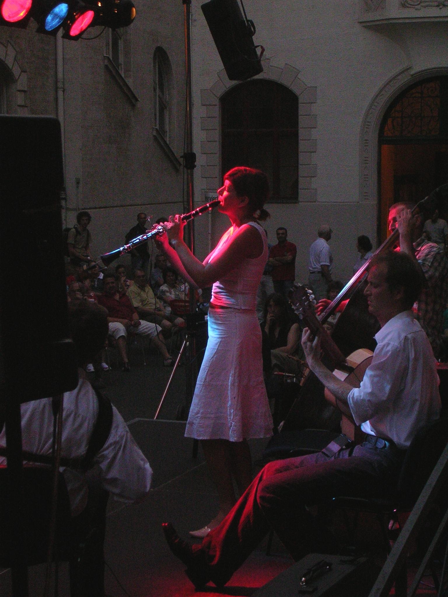 "Konzerte im Bürgerhof 2005 ""Sing your Soul"" - Freiwilligen-Zentrum Augsburg - Foto: Wolfgang F. Lightmaster"