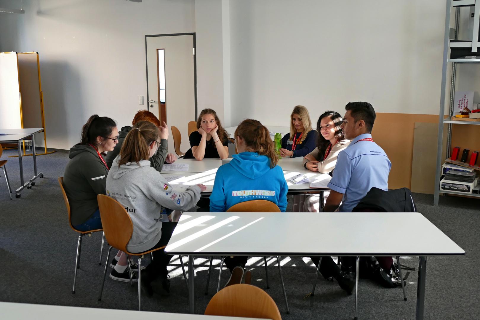 Welt-Jugendfreiwilligenforum 2018 Augsburg / Deutschland - 16.10.2018 Fachhochschule Seminar - Foto: Christoph Urban - Freiwilligen-Zentrum Augsburg