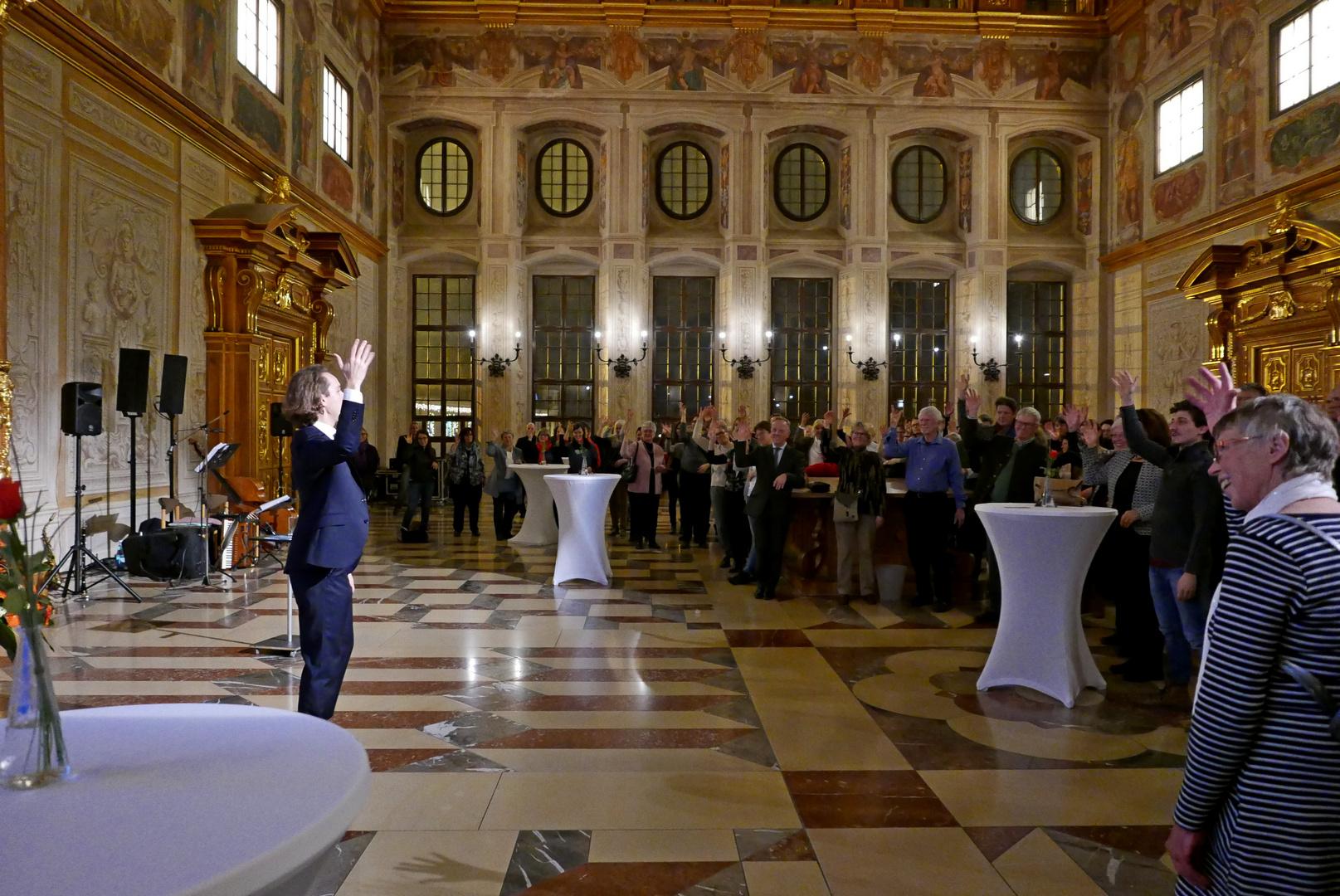 SymPaten-Dankeschönfest im Goldenen Saal des Augsburger Rathauses 05.12.2018 - Foto: Christoph Urban