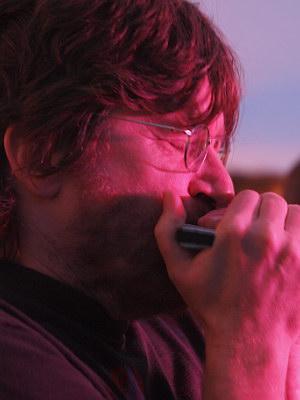 Konzerte im Bürgerhof 27.06.09 JJ Blues Band - Freiwilligen-Zentrum Augsburg - Foto: Hugo Fössinger