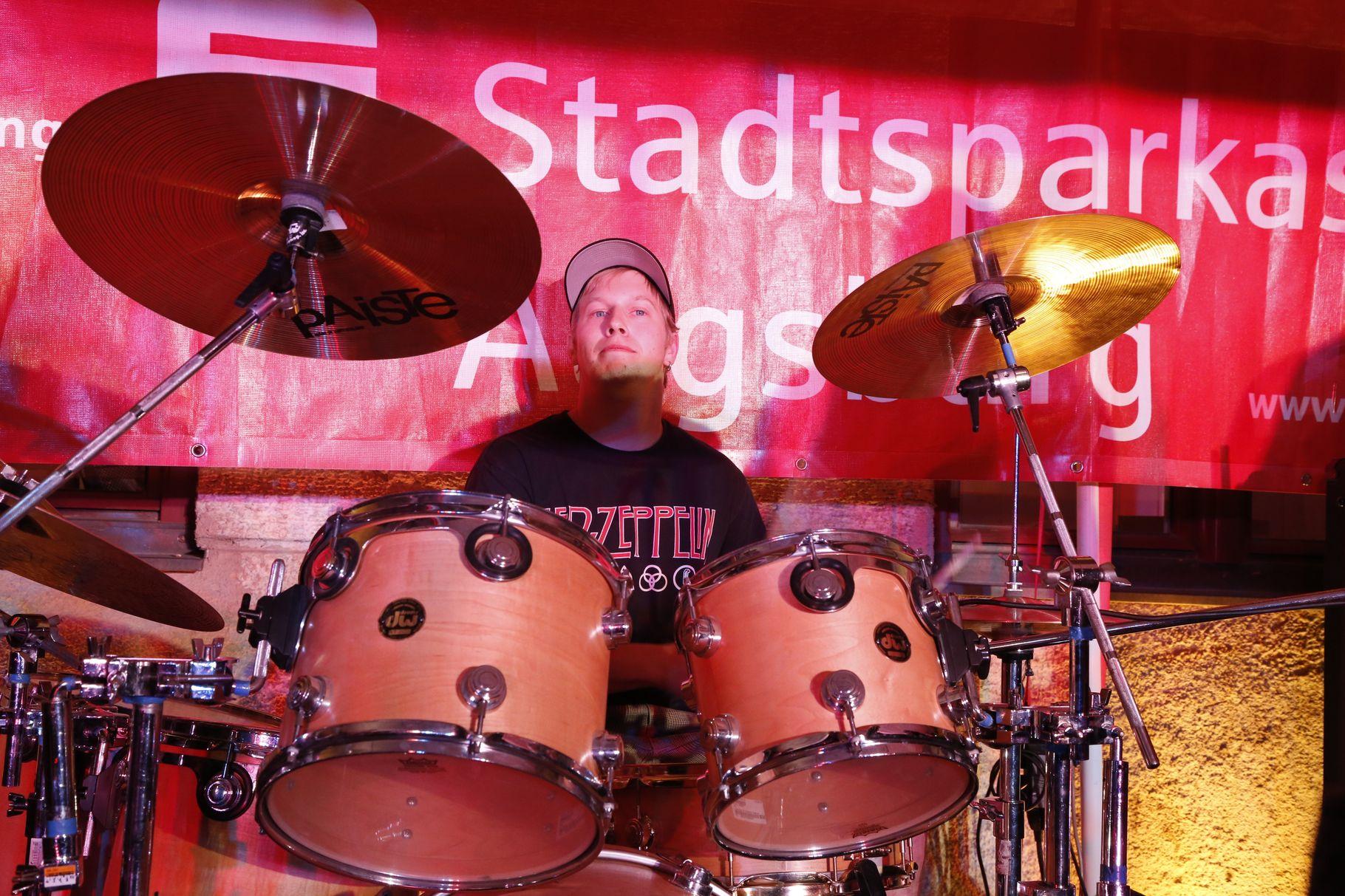 Konzerte im Bürgerhof 06.07.2013 Hard Boiled - Freiwilligen-Zentrum Augsburg - Foto: Franz Lechner