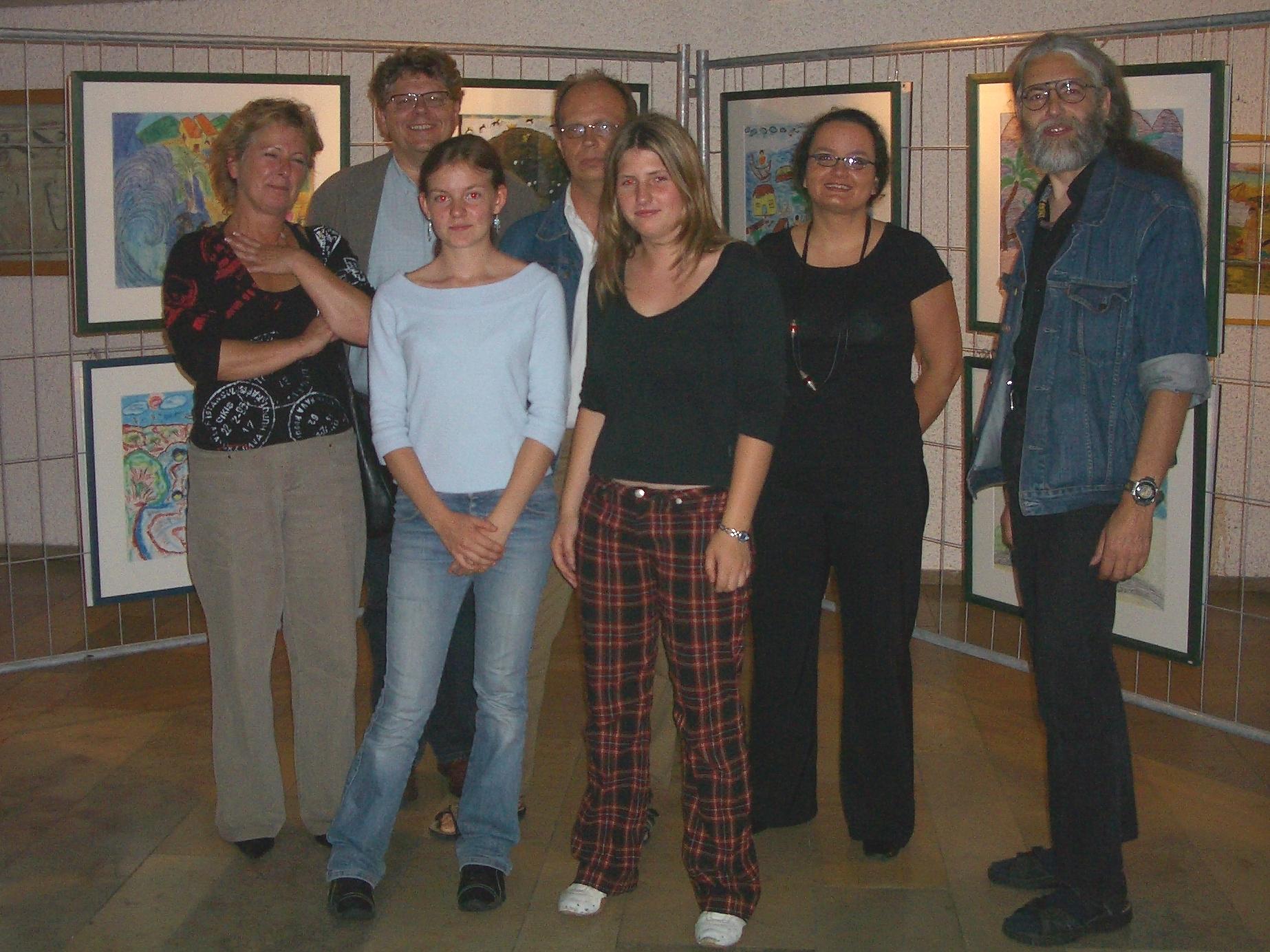 Freiwilligen-Zentrum Augsburg - Tsunami-Wanderausstellung 2005 Stetten-Institut - Foto: Wolfgang F. Lightmaster