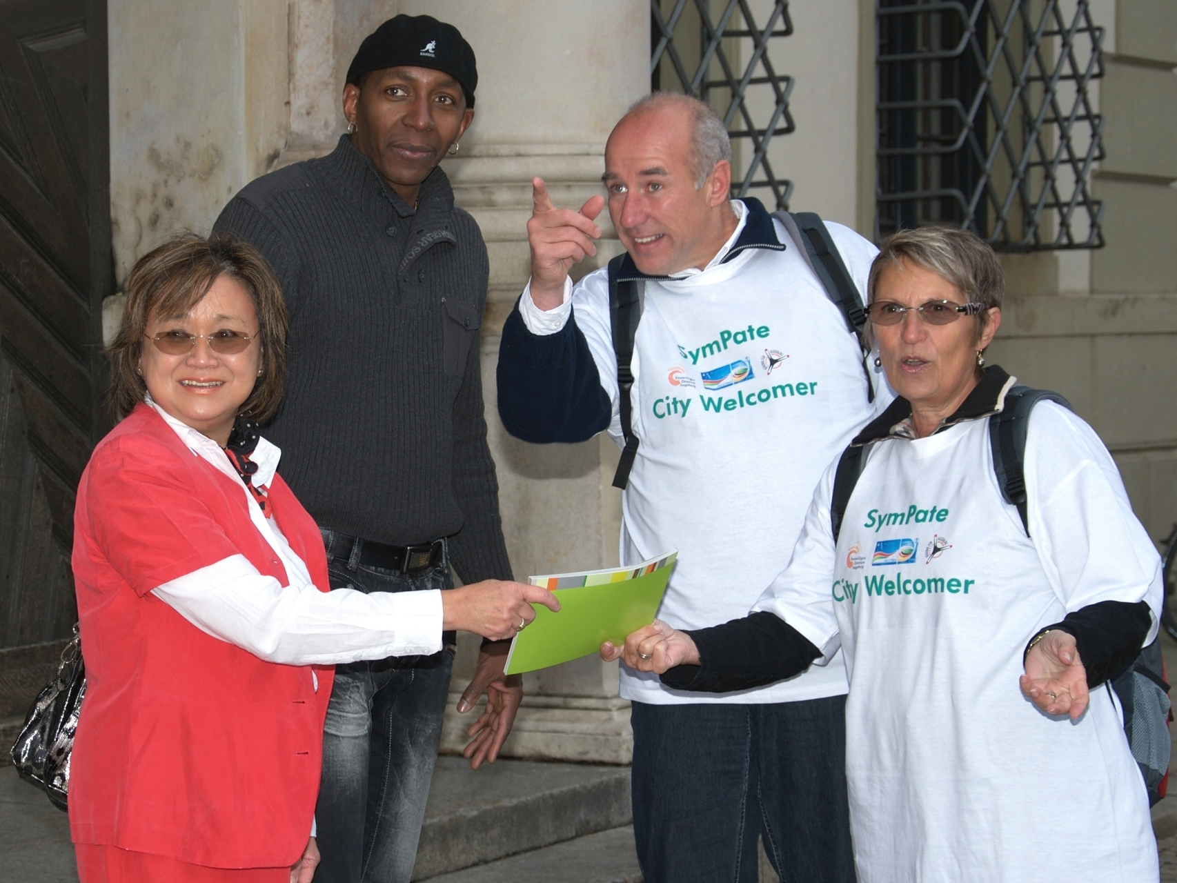 SymPaten - City Welcomers 2011 - Foto: Martin Schönberger - Freiwilligen-Zentrum Augsburg