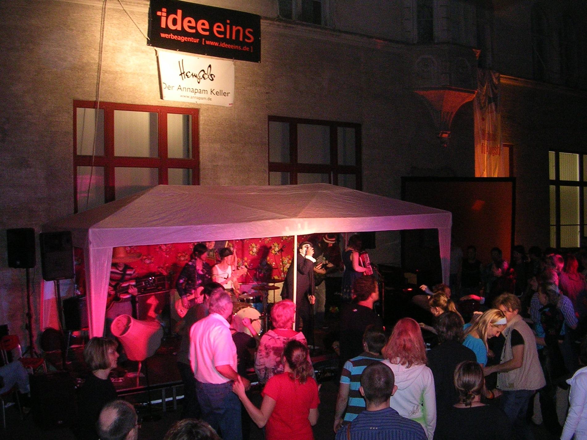 Konzerte im Bürgerhof 24.06.10 Jane Walton - Freiwilligen-Zentrum Augsburg - Foto: Robert Hösle
