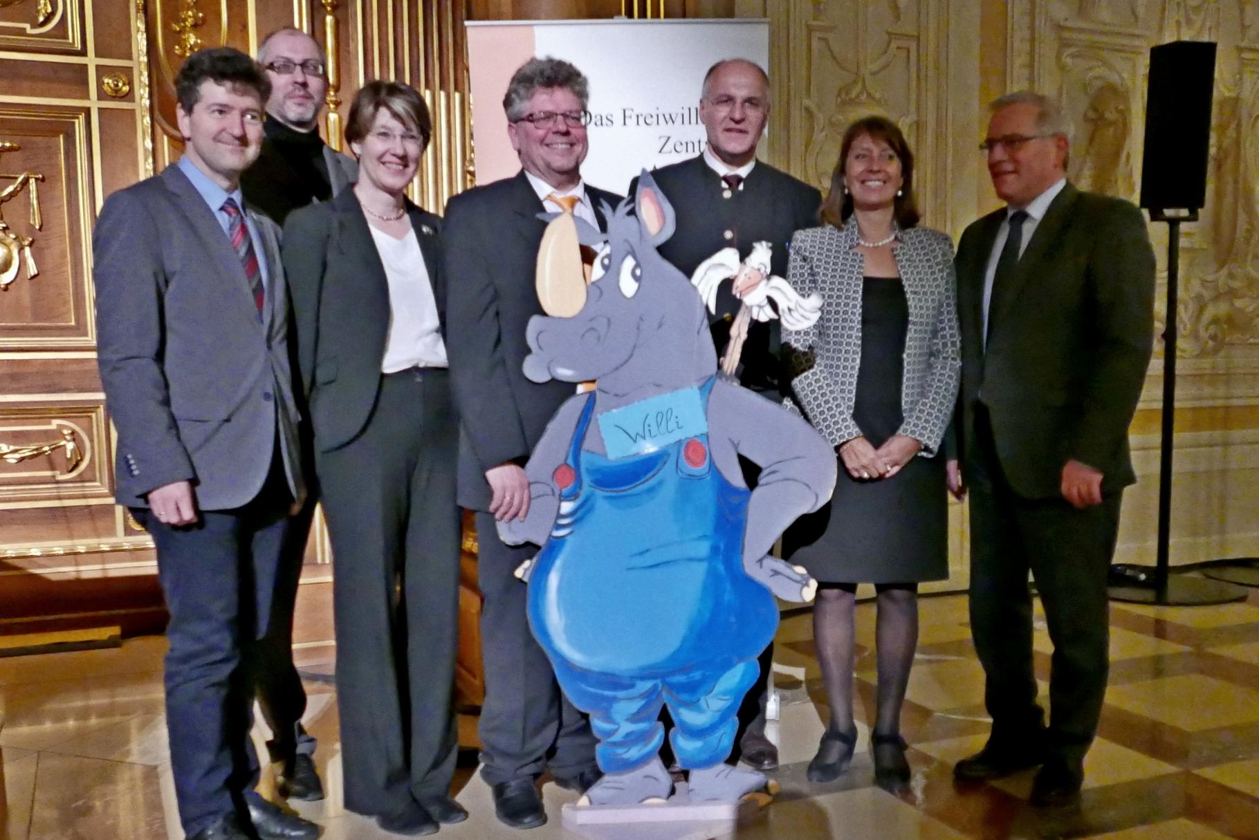 Festakt 20 Jahre Freiwilligen-Zentrum Augsburg - 24.03.2017 im Goldenen Saal Rathaus Augsburg - Foto: Christoph Urban