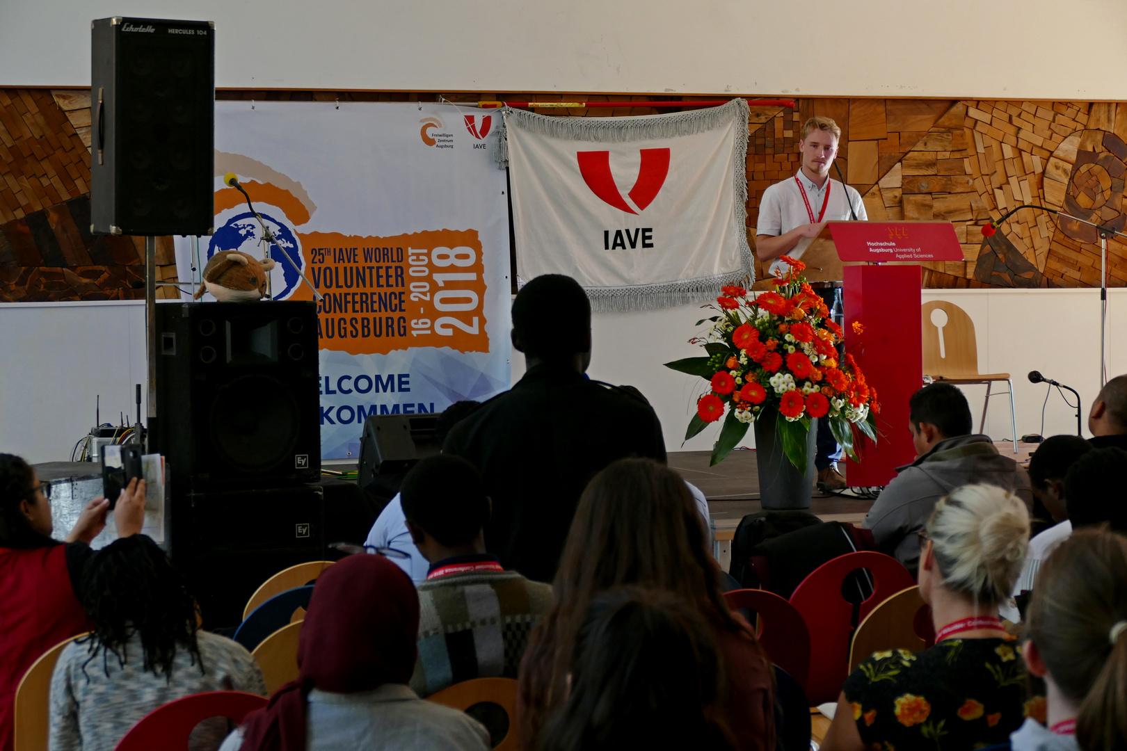 Welt-Jugendfreiwilligenforum 2018 Augsburg / Deutschland - 16.10.2018 Fachhochschule - Foto: Christoph Urban - Freiwilligen-Zentrum Augsburg