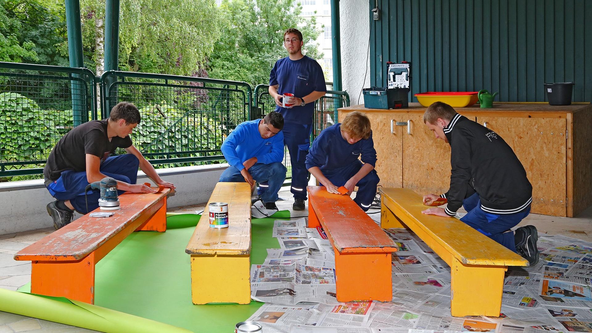 Sozialer Tag Stadtwerke Augsburg - Foto: Freiwilligen-Zentrum Augsburg