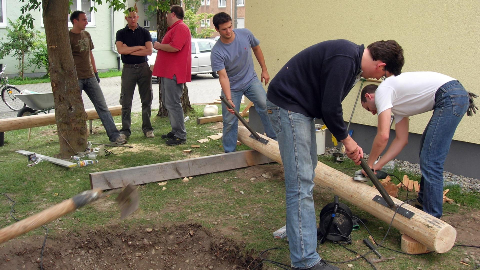 Make a difference day von KPMG Augsburg - Foto: Freiwilligen-Zentrum Augsburg