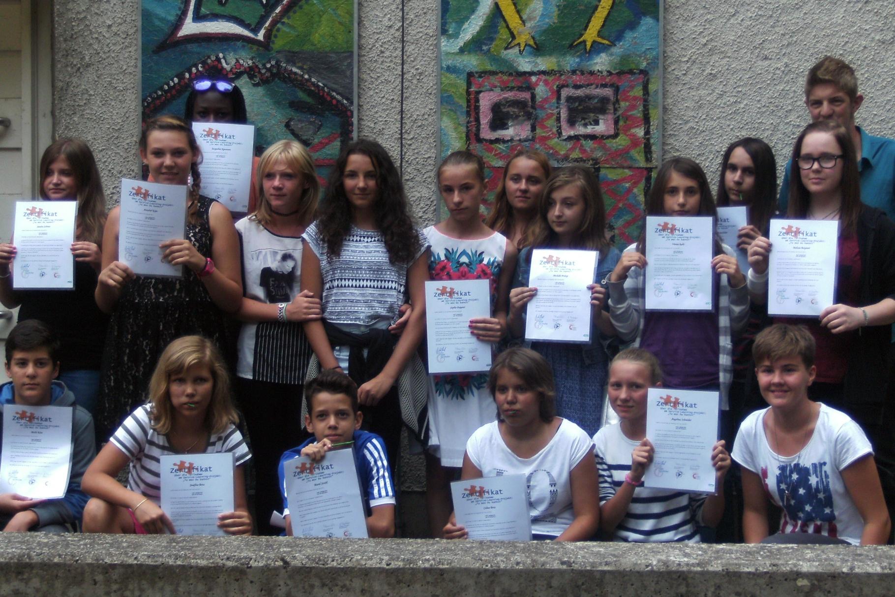 Abschlussfest und Überreichung der Zertifikate - Foto: Freiwilligen-Zentrum Augsburg