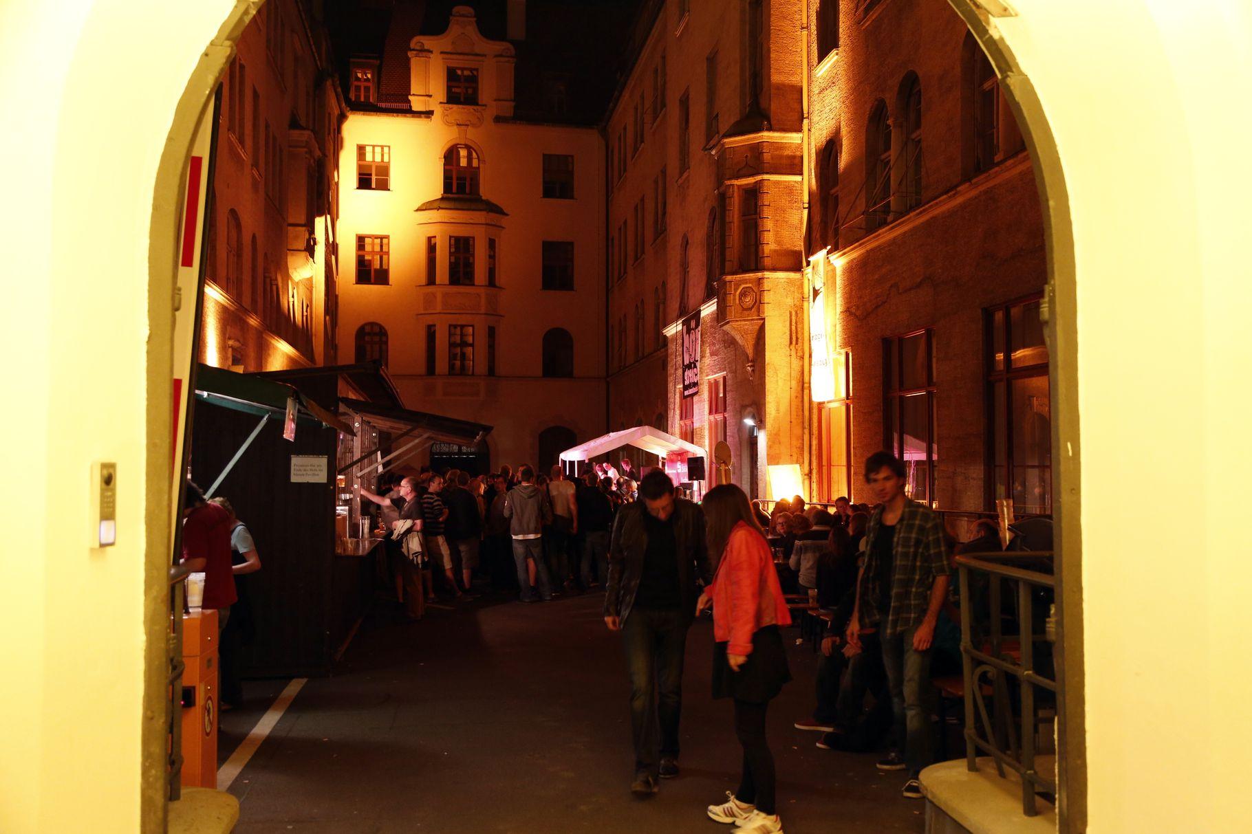 Konzerte im Bürgerhof 05.07.2013 - Freiwilligen-Zentrum Augsburg - Foto: Franz Lechner