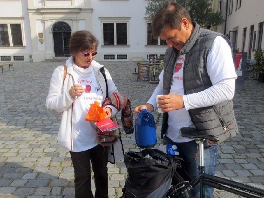 SymPaten - Schwabentag 2017 - Foto: Wera Thurner - Freiwilligen-Zentrum Augsburg