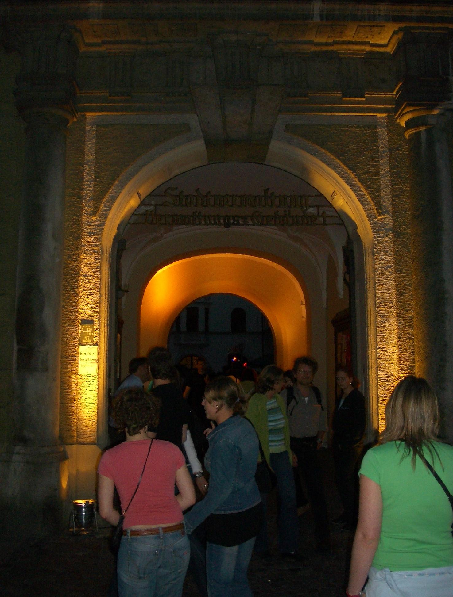 Konzerte im Bürgerhof 2006 - Freiwilligen-Zentrum Augsburg - Foto: Wolfgang F. Lightmaster