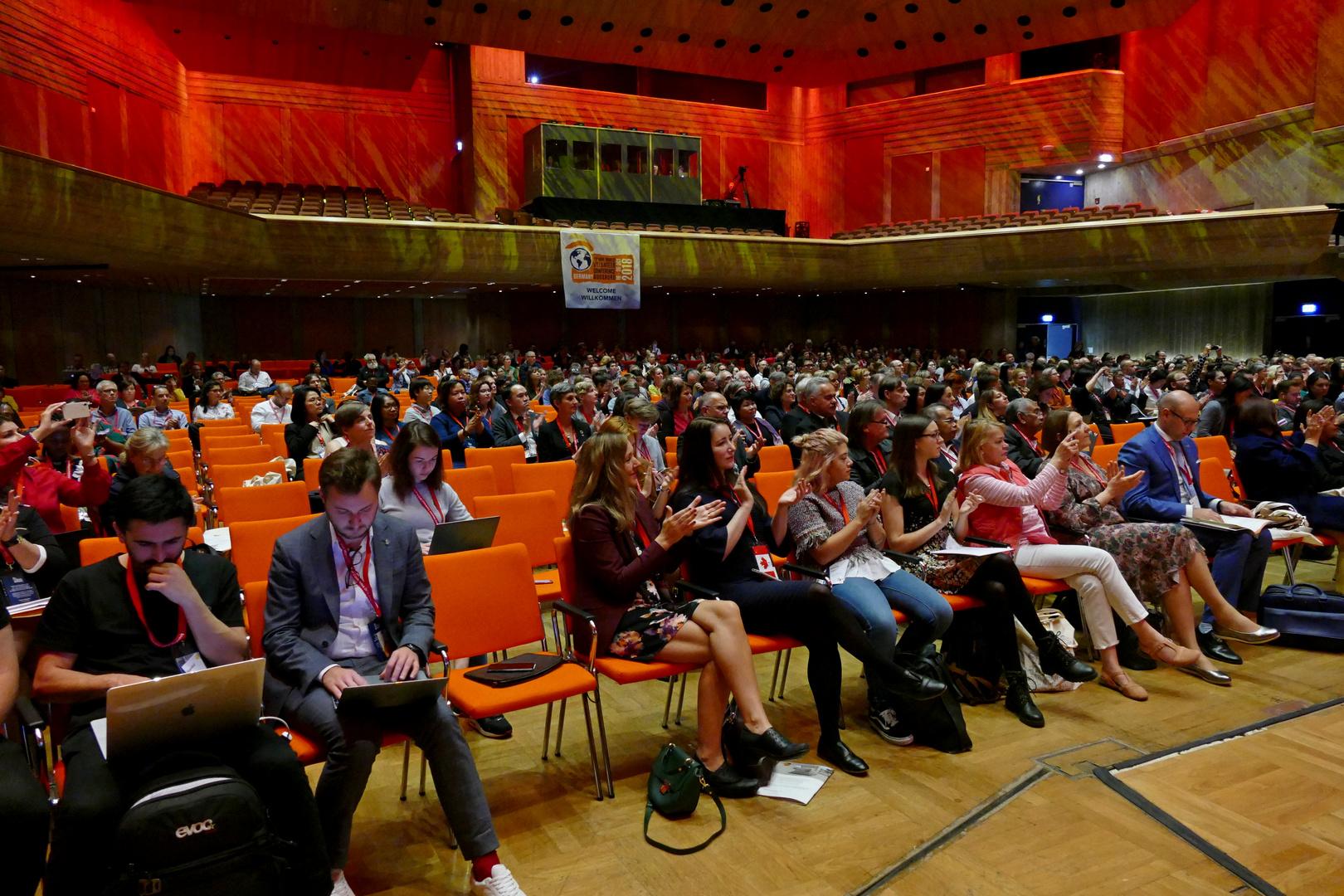 25. IAVE Welt-Freiwilligenkonferenz 2018 in Augsburg - Deutschland - 18.10.2018 Kongress am Park Foren - Foto: Christoph Urban - Freiwilligen-Zentrum Augsburg