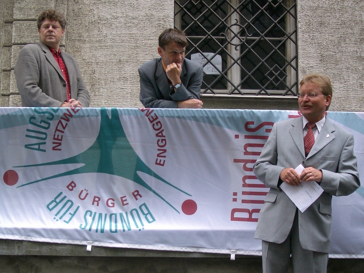 "Bürgertreff 01.07.04 ""Richtfest"" - Foto: Wolfgang F. Lightmaster - Freiwilligen-Zentrum Augsburg"